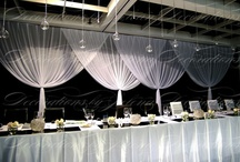 Black and White Wedding Styling and Decorations / Black and White Wedding Styling and Decorations