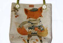 "сумочка ""Рыжий Fox"""