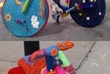 YARN BOMB!! / by Fromm Me To You
