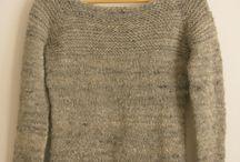 spinning and knitting / 手紡ぎと手編みのヒント