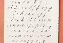 Kalligrafie, Stempel und Kalenderideen