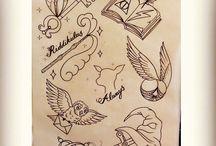 Tatuagens Harry Potter