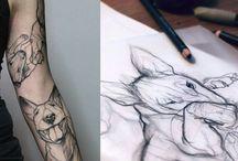 Bull Terrier Tattoos