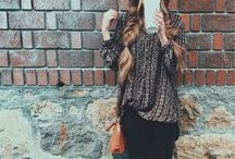 Fall boho fashion