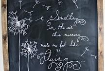 Chalkboard / by beth b