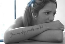 Tattoos and piercing / by Makayla Jo