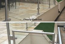 terrace glass fence