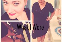 What I Wore / My outfit posts.