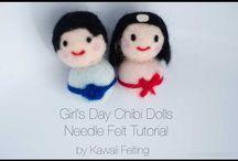 Kawaii Felting - Needle Felting Tutorials / Kawaii Needle Felting Tutorials