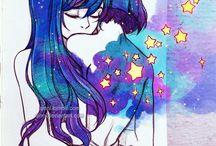 Csók rajzolása