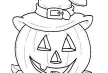 halloween värityskuvat