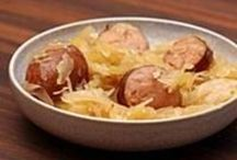 Sausage dishes