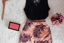 Bachelorette Party Outfits / Sexy and fun outfits for a bachelorette party night out or weekend away.