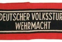 """Volkssturm / The desperate Hitler regime created an """"army"""" of young boys and old men in last stages of WW2. On September 25, 1944, anticipating the invasion of the German Fatherland, the Volkssturm (People's Army) was formed under the overall command of Heinrich Himmler. Every available male aged 16 to 60 was conscripted into this new army and trained to use the Panzerfaust anti-tank weapon. Objections to using even younger boys were ignored."""