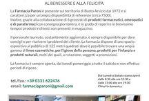 La Farmacia / La Farmacia Paroni è presente sul territorio di Busto Arsizio dal 1972 e si caratterizza per una ampia disponibilità di referenze (circa 7500). Inoltre, grazie alla collaborazione di 6 grossisti di prodotti farmaceutici, omeopatici e di parafarmaci con consegna giornaliera, è in grado di reperire in brevissimo tempo i prodotti richiesti non presenti in magazzino.