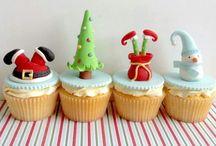 Karácsonyi cupcake ötletek.