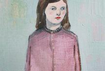 Portretten Amanda Blake Art
