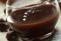 σάλτσα καραμέλας με άρωμα εσπρεσσο