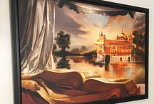 Sikh Art & Artist / Renowned Sikh painter Kanwar Singh has been creating exceptional paintings exclusively devoted to the Sikh religion and history for over ten years. His work is continually exhibited world-wide in prominent heritage sites such as the Virasat-e-Khalsa museum at Anandpur Sahib.   Visit the artist's online gallery (artofpunjab.com/shop) to see his sought after paintings and select affordable fine art prints for your own home or to be presented as a unique gift.