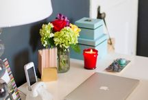 Desk Space & Vanities / by Courtney Aguiar