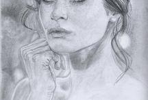 Kron - Drawing portraits portfolio / Alessandro Masciari [Kron] Traditional Drawing Portraits Portfolio