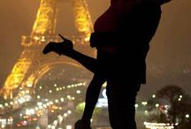 Paris je t'aime! / La Ville Lumière / by Ceina Hernández