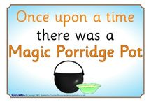The magic porridge pot/fairytales