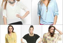 Triko & Bluz / Modern çizgi ve ileri teknoloji ürünü olan trikolar ve tiril tiril bluzlar stilimon'da! Kadınların üst giyim kombinlerinde sıklıkla tercih ettikleri trikolar ve elegan bir görünüm sağlayan bluzlar ile etkileyici, feminen ve dikkat çekici bir görünüm yakalamak kolaylaşıyor. Sezonun en göz alıcı modellerinden seçilmiş özel tasarım triko ve bluzlarla modanın gerisinde kalmayacaksınız.