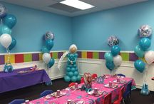 Birthday Parties at Girls' World / Birthday party set ups and themes for girls ages 3 to 14