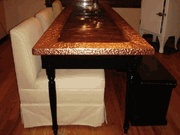 copper table top / DIY / by Nancy Melton
