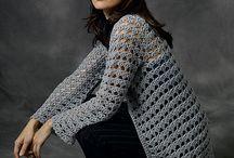 horgolt pulóverek