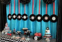 Rock n Roll Themed Party / Bring on the happy days with a retro Rock n Roll themed party!