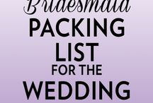 Bridesmaids Tips