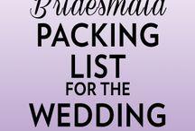 Bridesmaid Things / by Alex Sharum