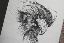 The art of Blackwork / • drawing • illustration • tattoo • digital art