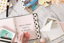 Stylish Stationary / Take notes and make plans in style.