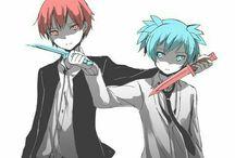 Assassination classroom / MaeharaXisogai, KarmaXAsano