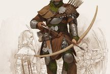 Fantasy - Rangers & Rogues