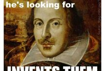 shakespeare / by Wendy Blair