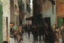 Pittura 800 italiano