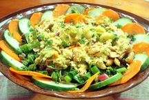 Super Salads / Sassy vegan salads to satiate the stomach and soul (say that 5 times fast!)