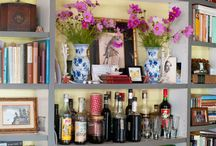 9 Brilliant Decorating Ideas for Your Bookshelves / Add some excitement to your shelves with these ideas.