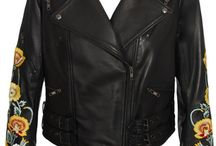 Embroidery Leather Jackets