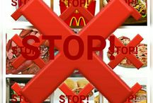 STOP CONSUMING JUNK FOODS, FAST FOODS AND SOFT DRINKS!