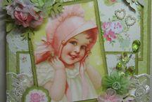 vintage kaarten kinderen
