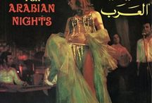 Vintage belly dance album covers