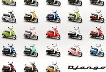 Django scooters