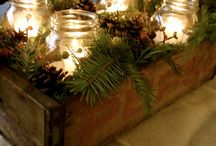 Xmas decor  / by JourneyOn Designs