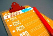 Menu Design / #restaurant #menu #design