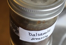 spices and salad dressing